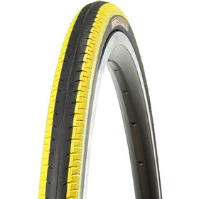 "Kenda Kontender K-196 Tyre 28"", wire bead black/yellow"